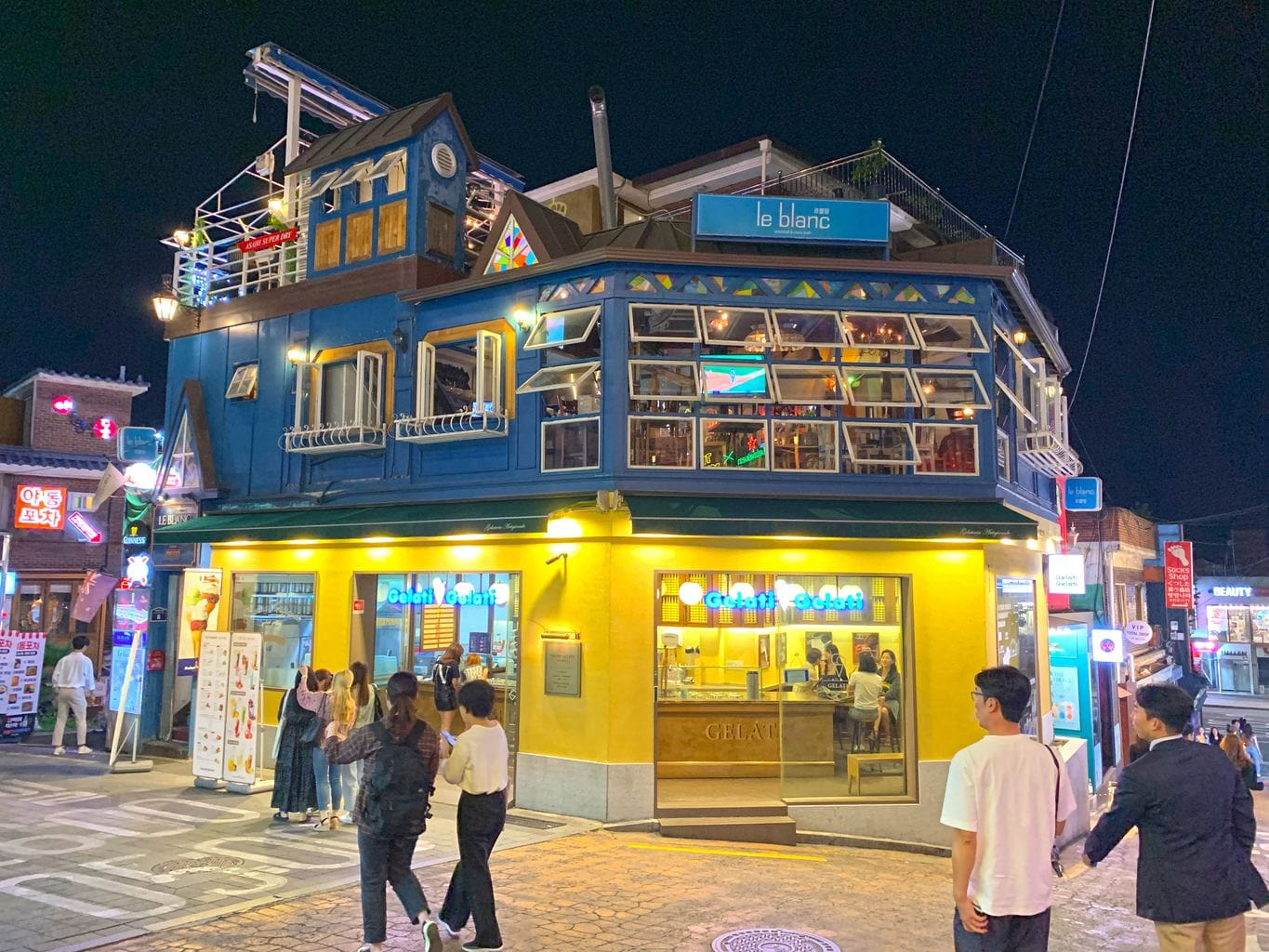 Places to please all palates in Itaewon