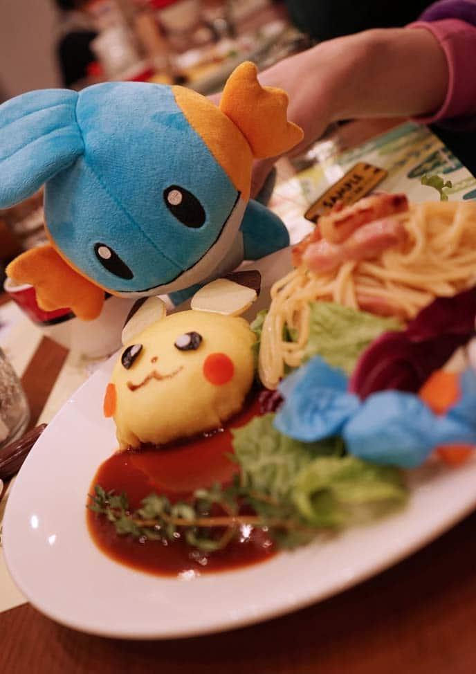 Pokemon themed restaurant in Japan