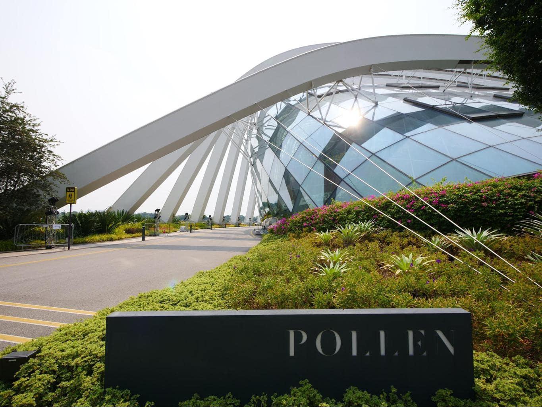 Pollen Restaurant entrance