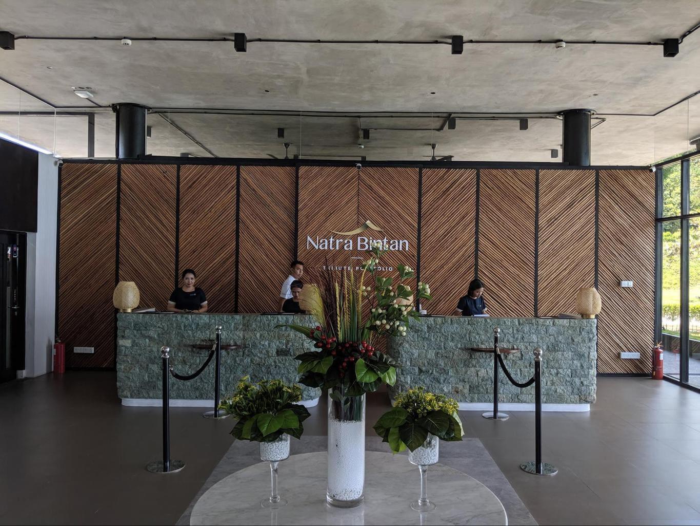 Reception at Natra Bintan