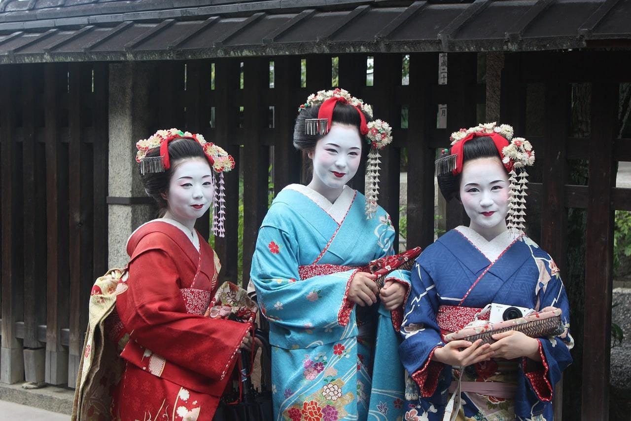 Spotting geishas in Kyoto