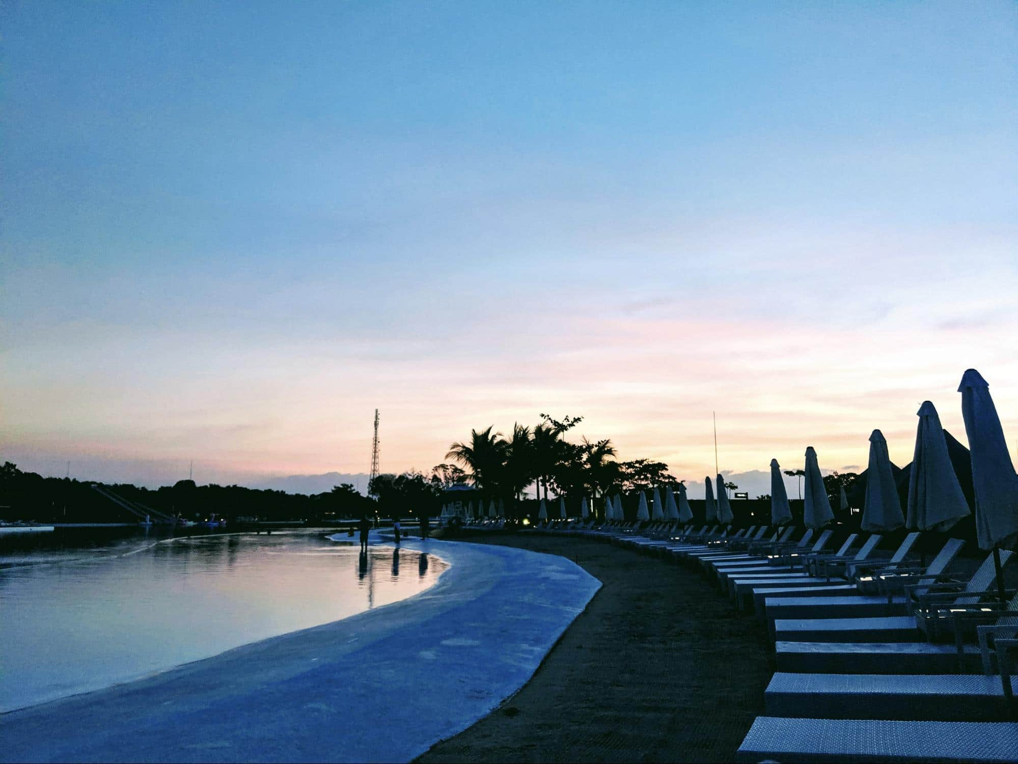 Sunsets at Natra Bintan
