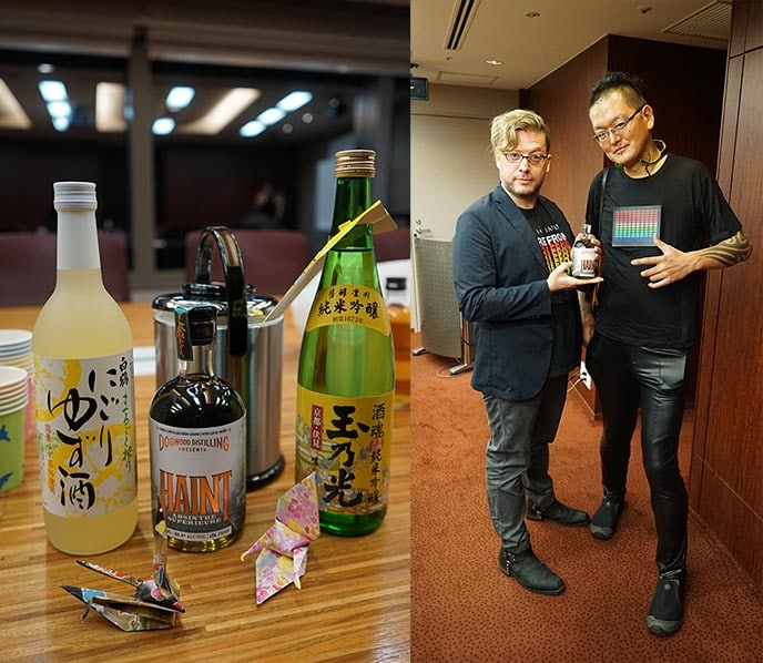 Taste all kinds of sake in Japan