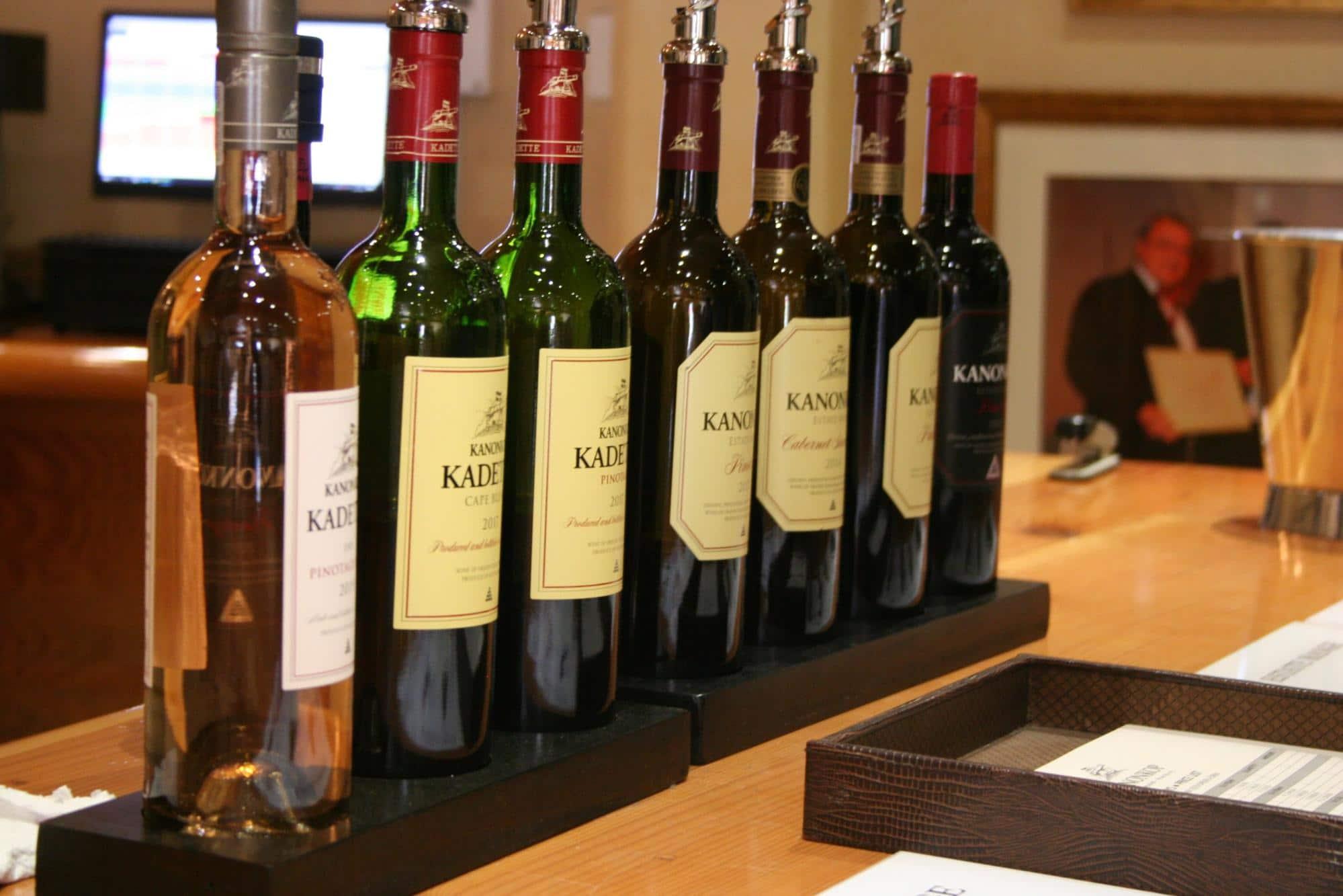 Tasting Room at Kanonkop in Stellenbosch
