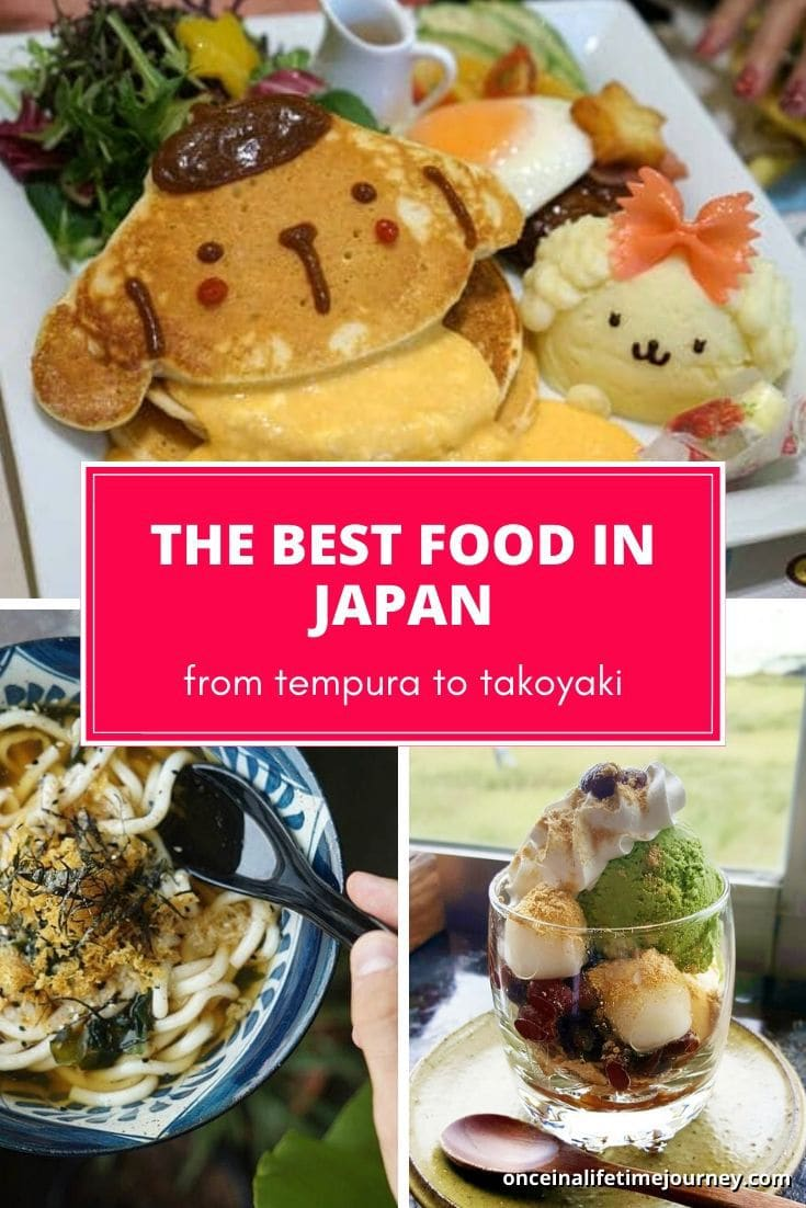 The best food in Japan to eat