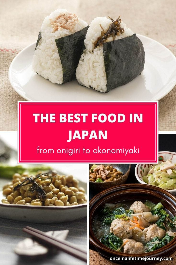 The best food in Japan to try