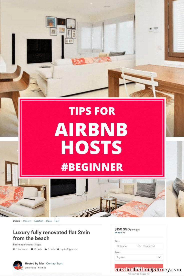 Tips for Airbnb hosts Pin 01