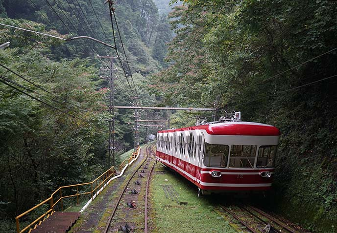 Traveling the countryside of Japan
