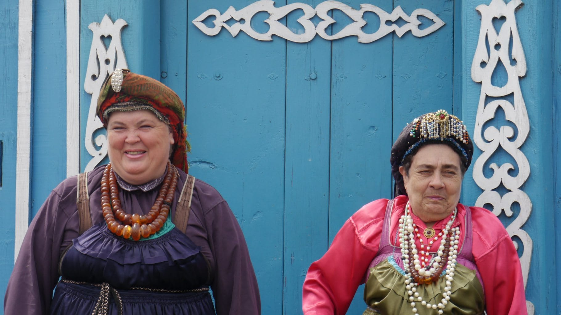 Two Russian women from Ulan Ude