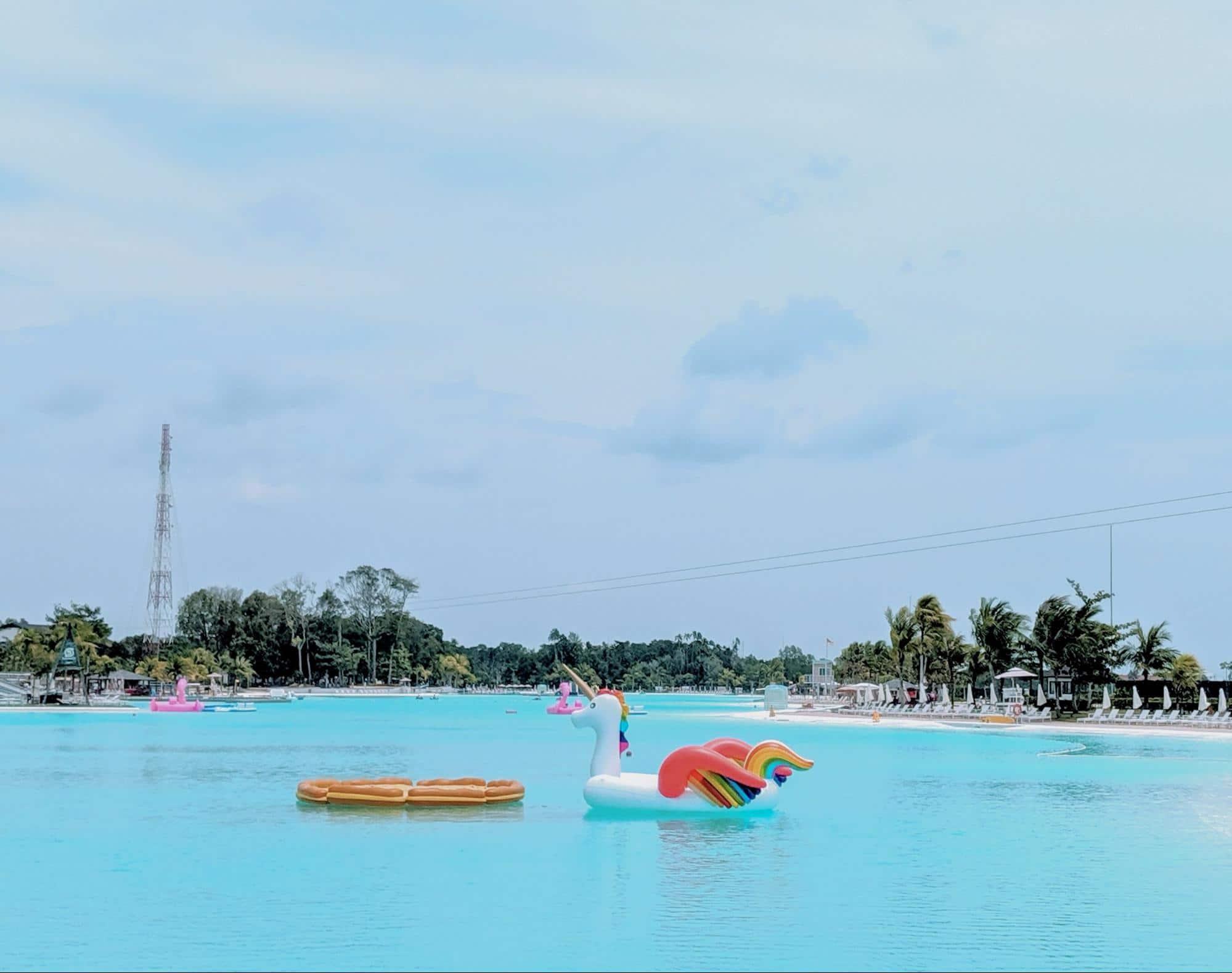 Water activities at Natra Bintan