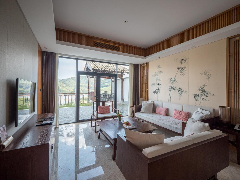 Alila Anji living room