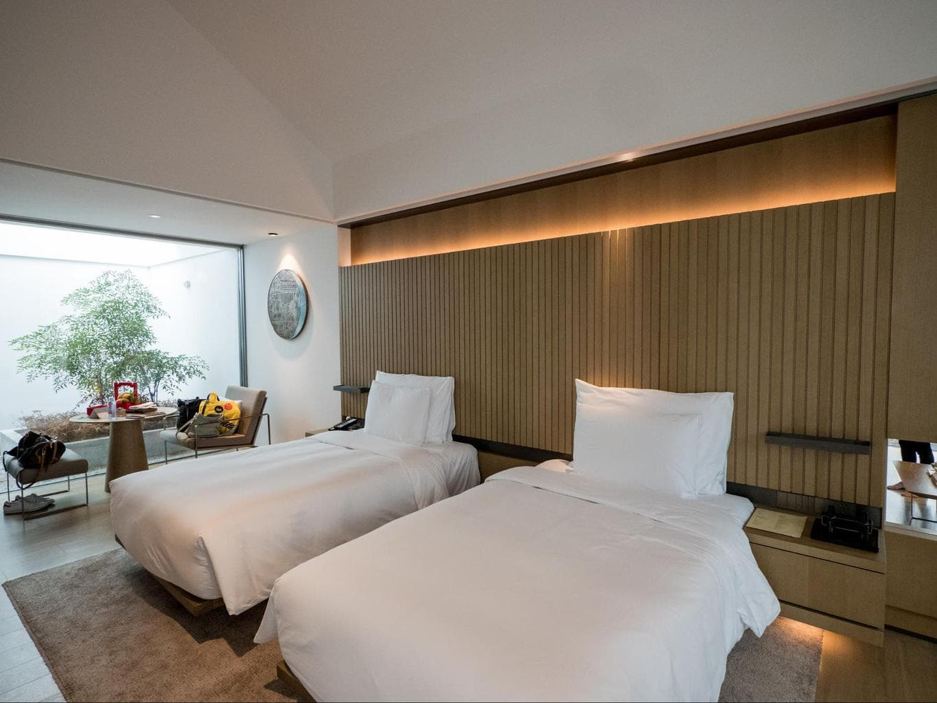 Bedroom at the Loft Suite at Alila Wuzhen