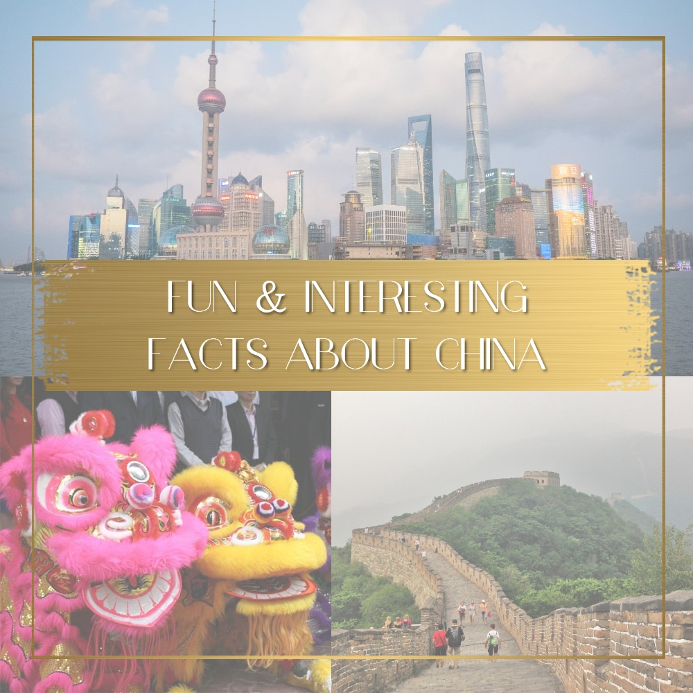 Facts about China feature