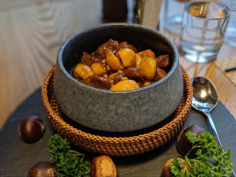 Food at Alila Anji