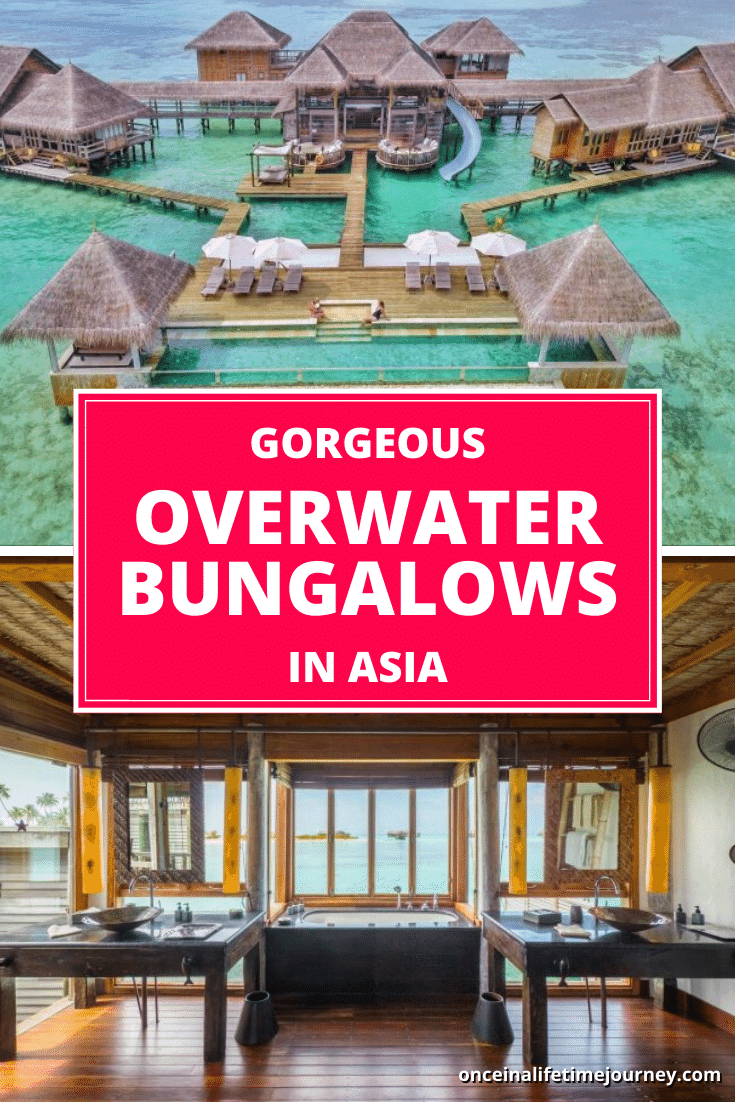 Overwater Bungalows in Asia Pin 01