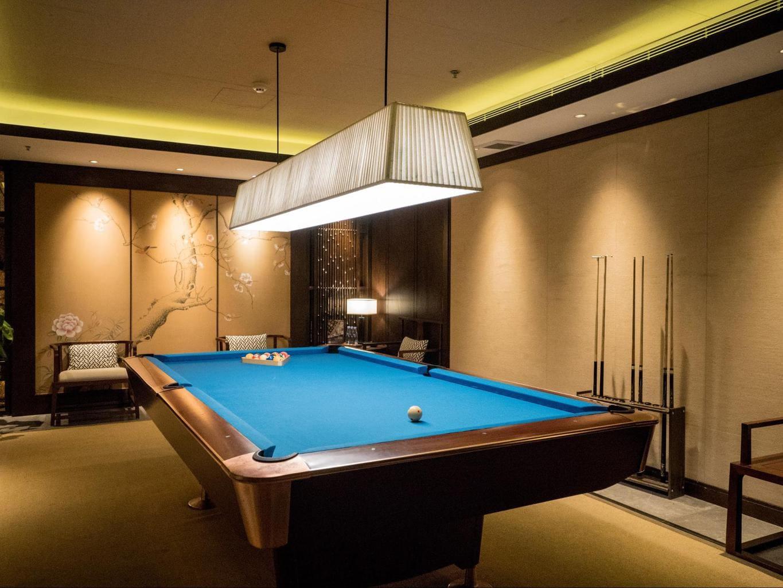 Pool room at Alila Anji