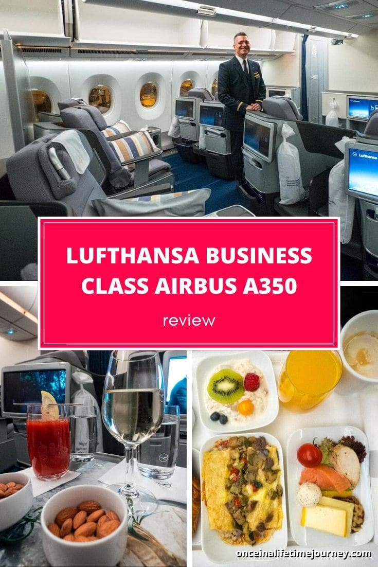 REVIEW OF NEW LUFTHANSA BUSINESS CLASS AIRBUS A350