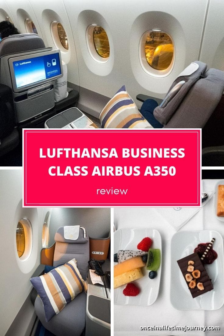 REVIEW OF THE NEW LUFTHANSA BUSINESS CLASS AIRBUS A350