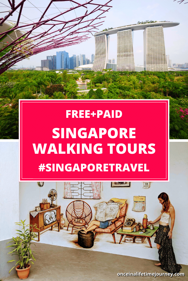 Singapore Walking Tours Pin 01