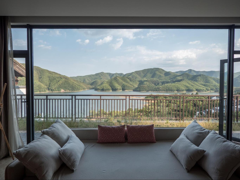 The views from the villas at Alila Anji