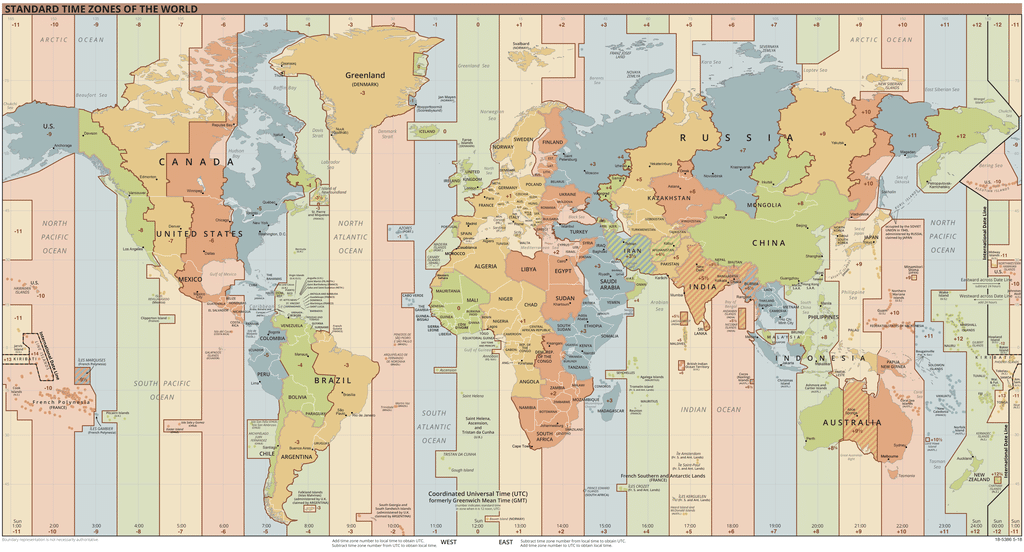The world time zone