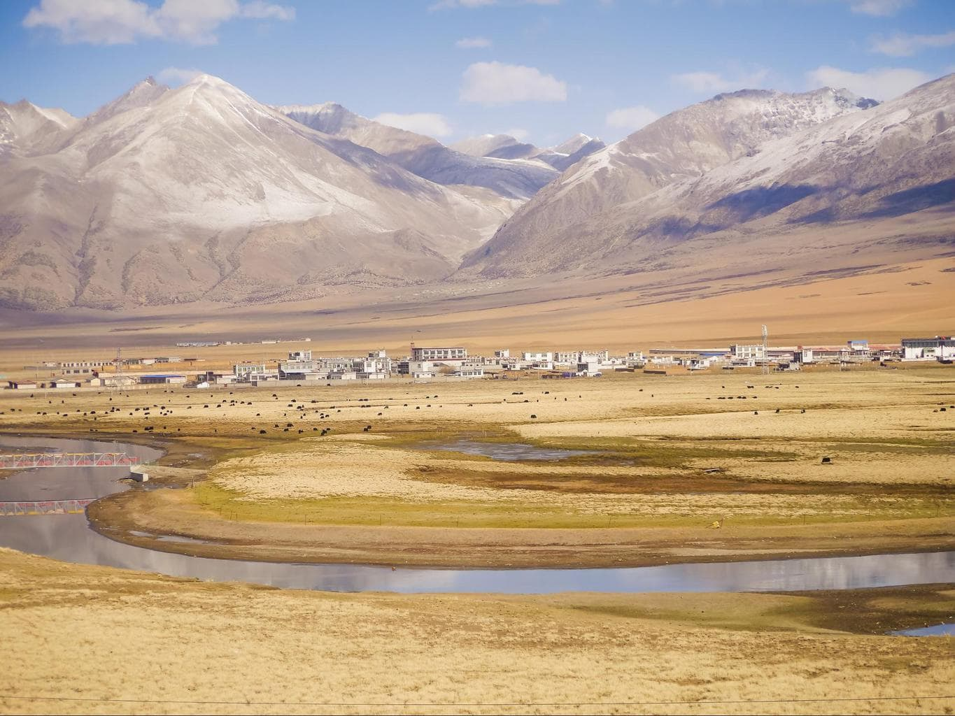 Views from the train to Lhasa