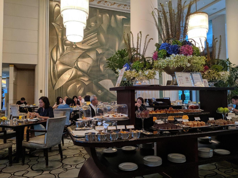 Breakfast at the Lobby Bar