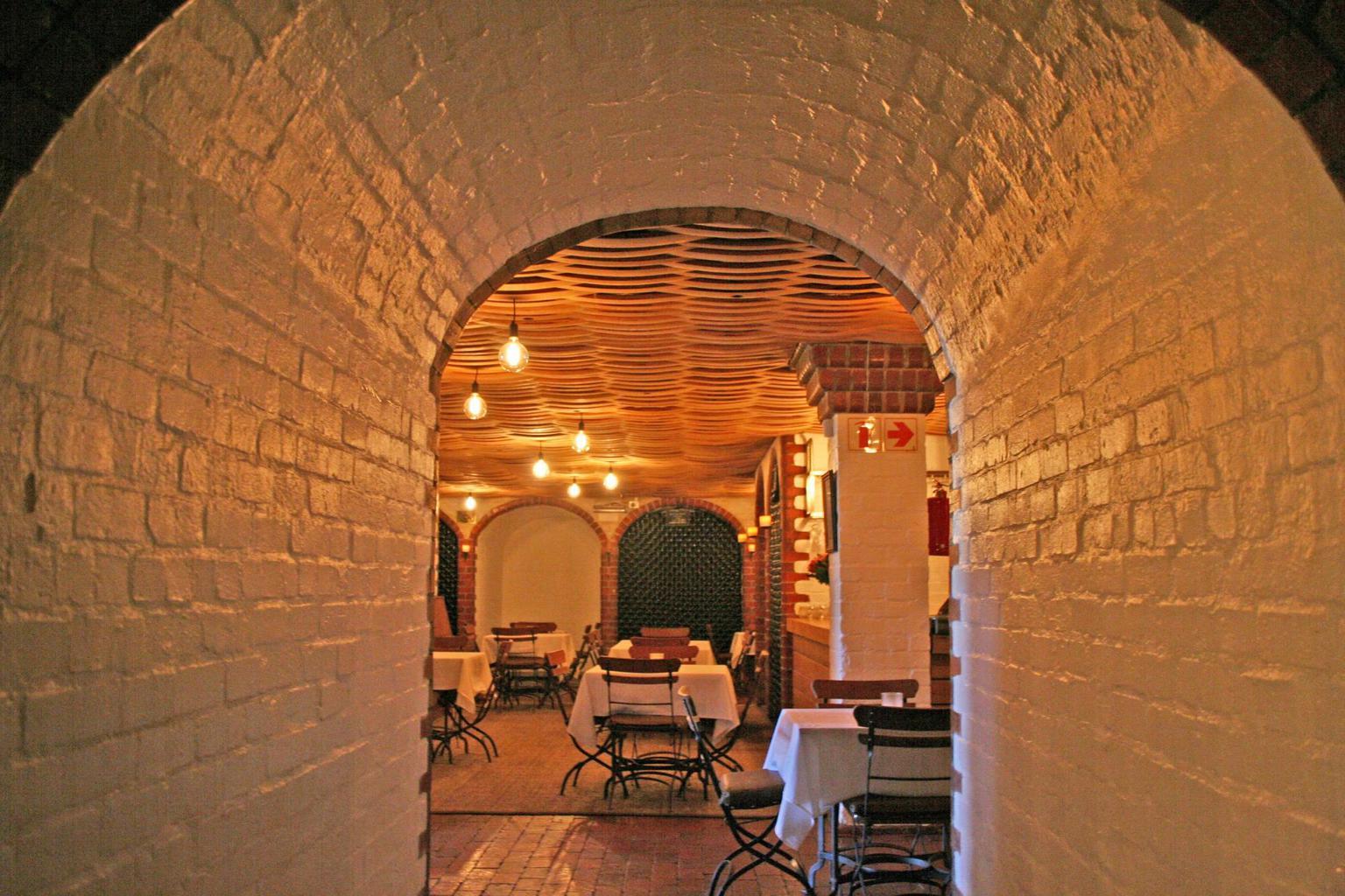Cellar at Rust en Vrede