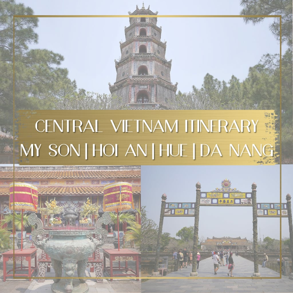 Central Vietnam Itinerary feature