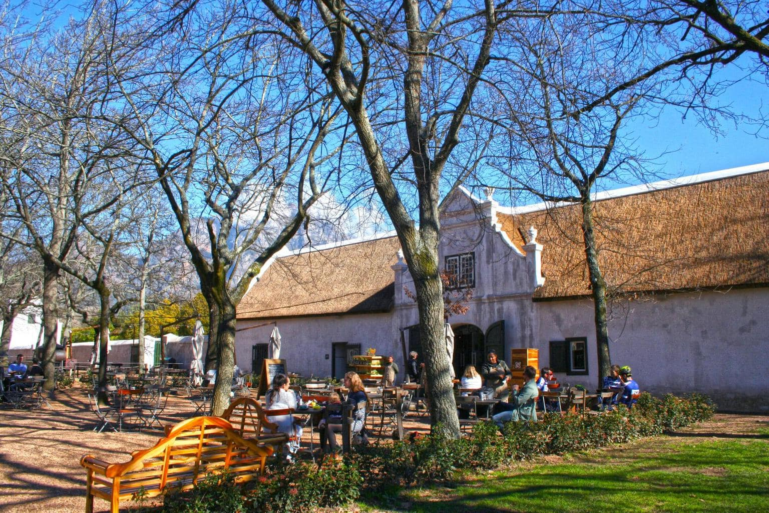 Deli area at Boschendal