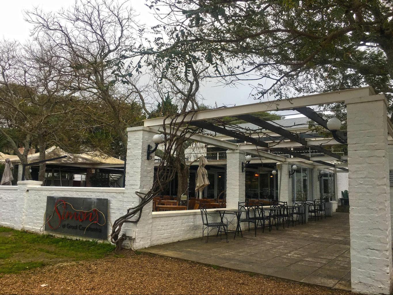 Entrance to Simon's at Groot Constantia