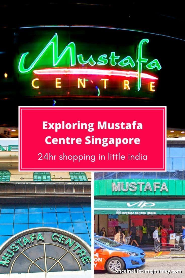 Exploring Mustafa Centre Singapore