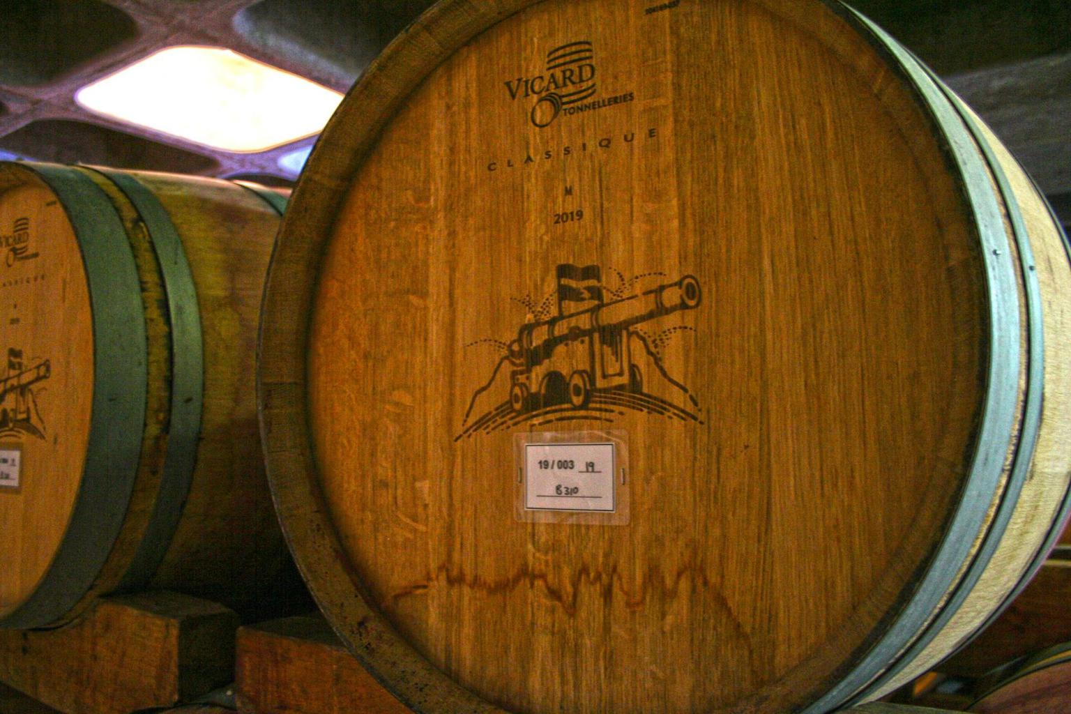 Kanonkop cellar barrel