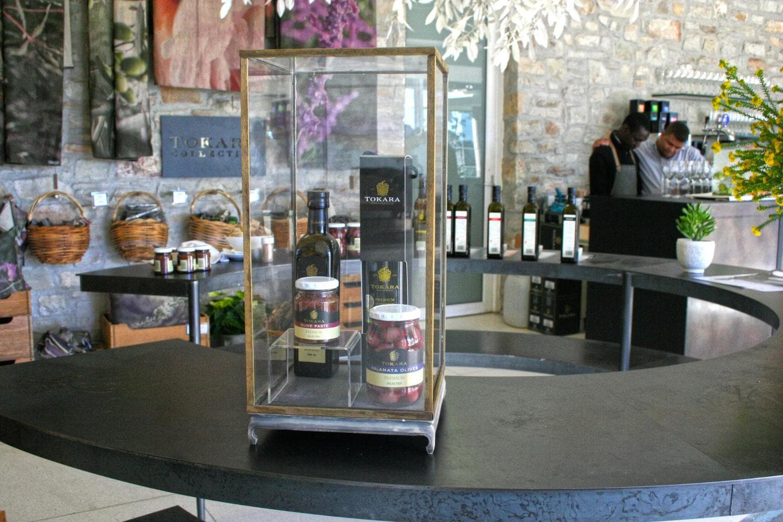 Olive oil at Tokara