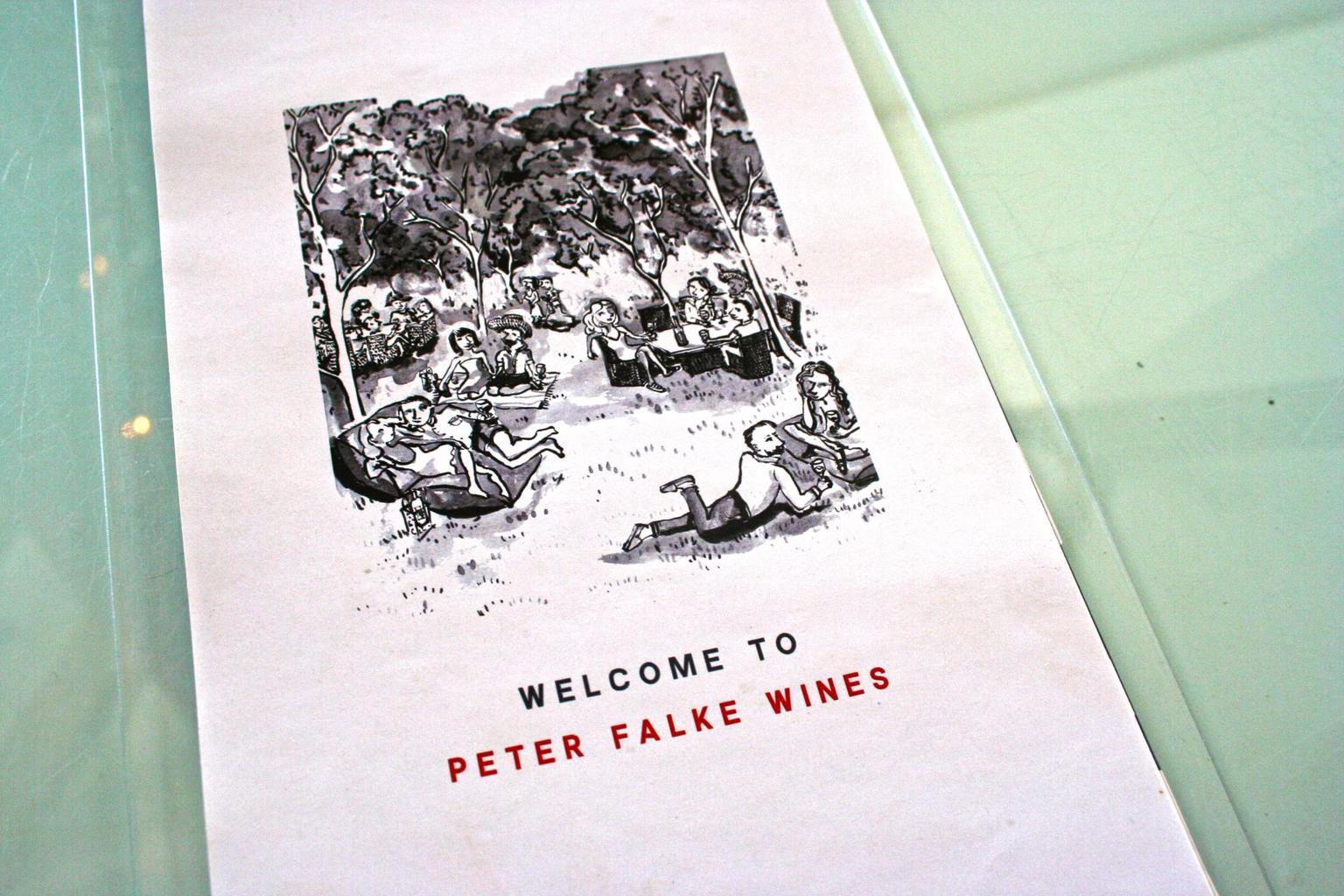 Peter Falke menu