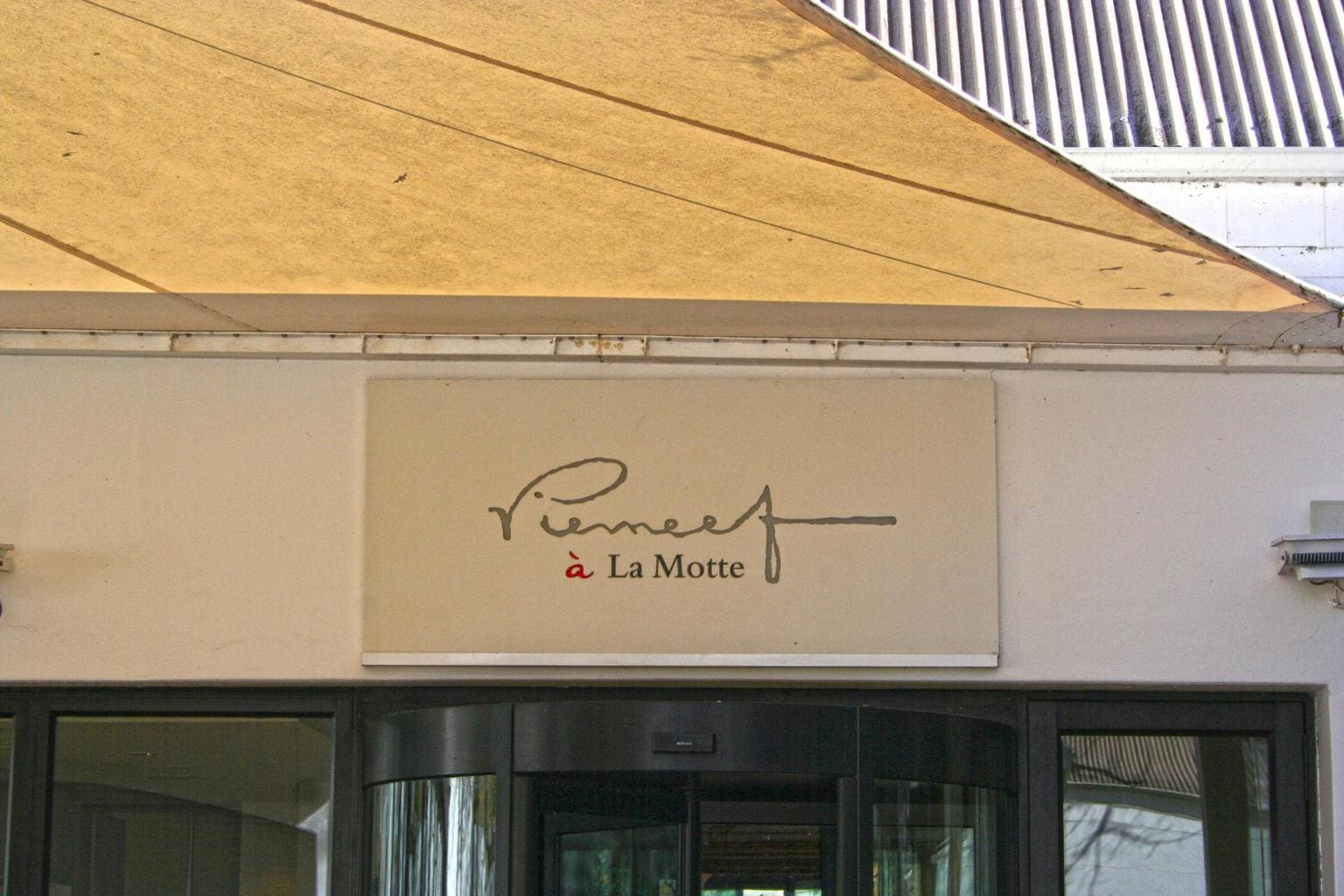 Pierneef a La Motte entrance