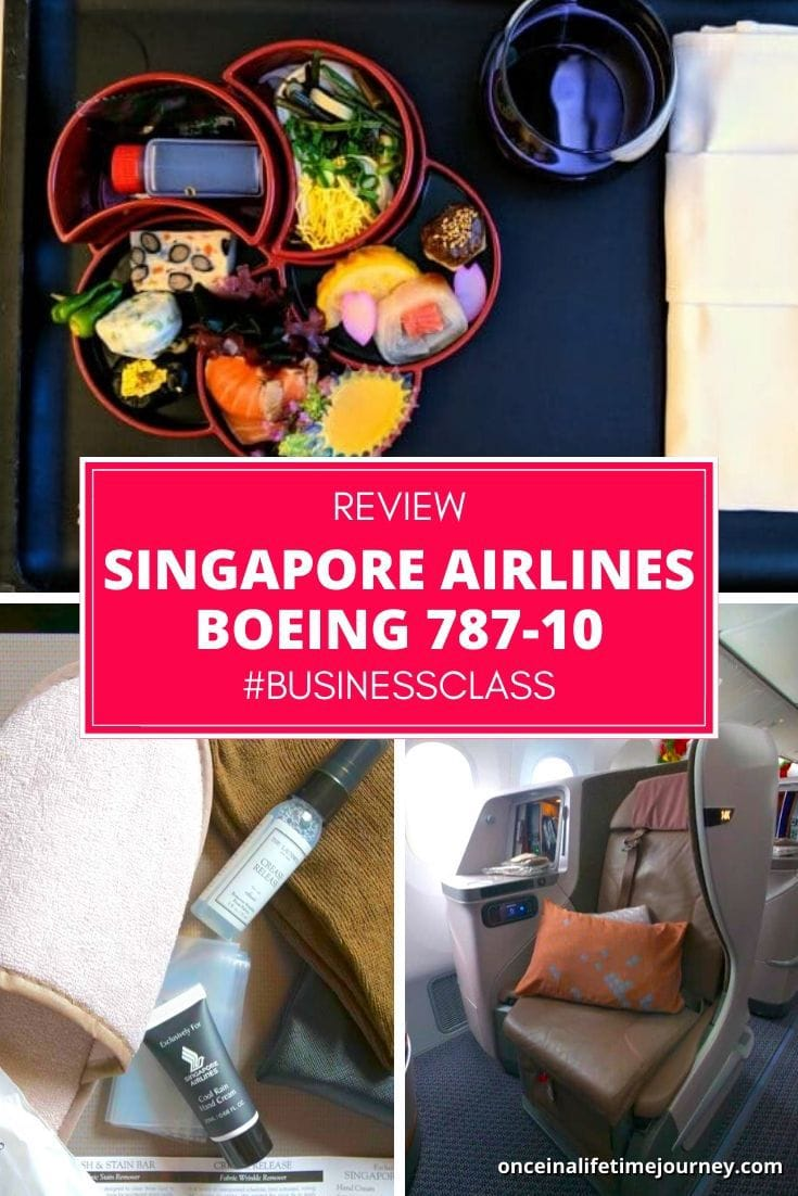 Review of Singapore Airlines Boeing 787-10 Business Class Pin 0