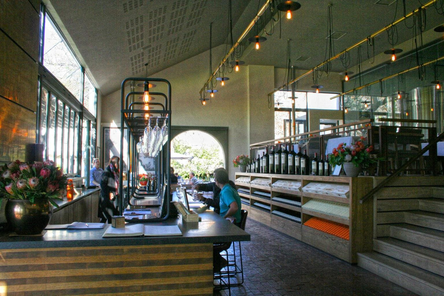 Rust en Vrede tasting room