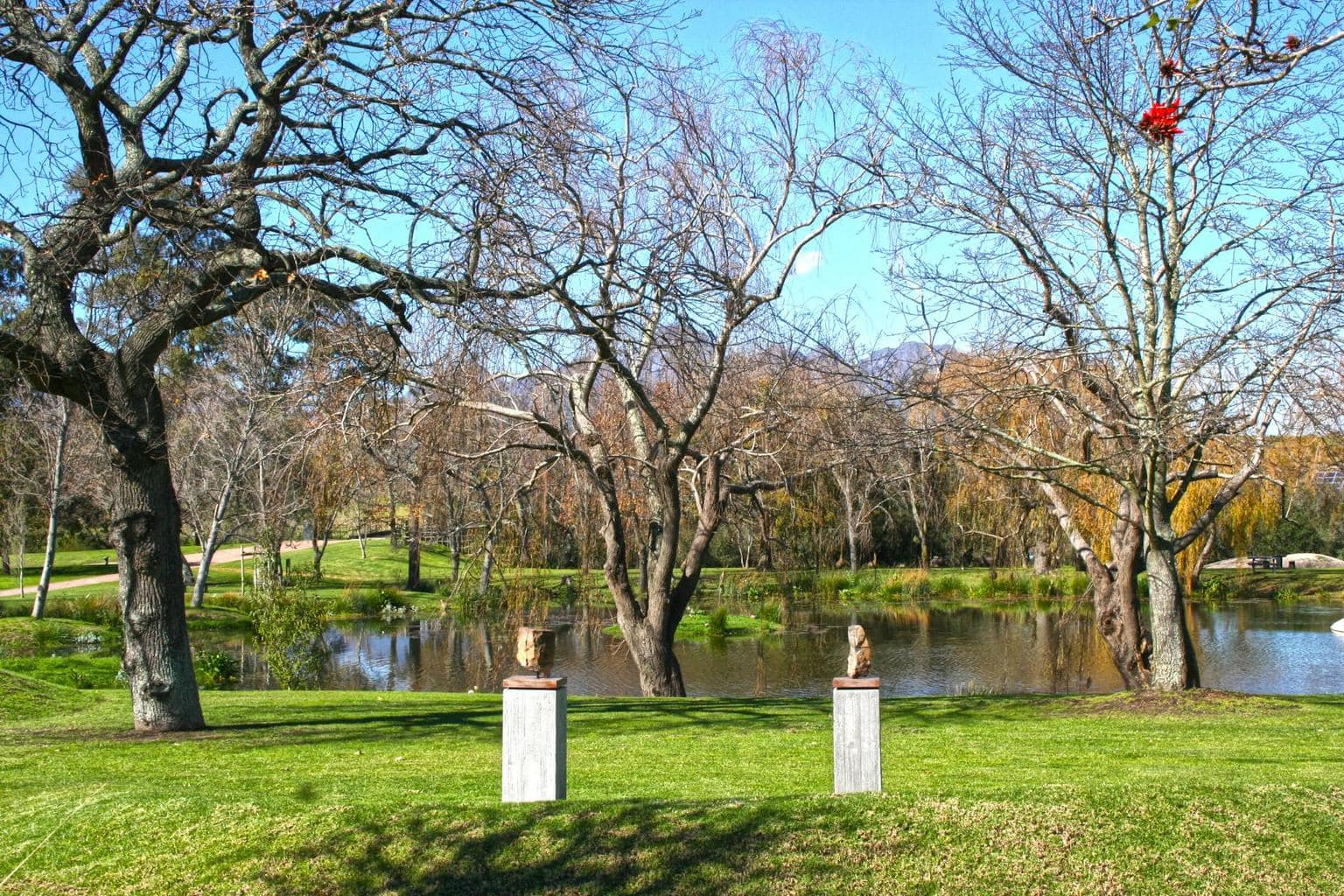 Sculptures at Spier