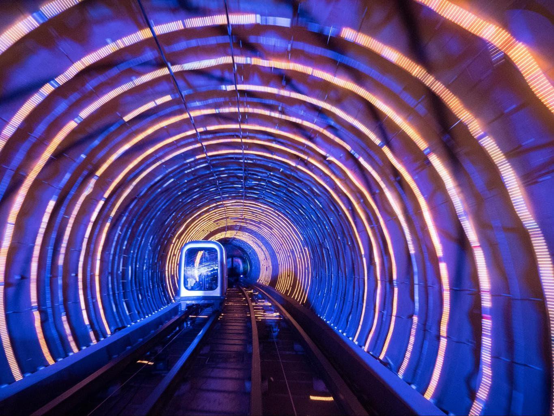 Shanghai Bund Sightseeing Tunnel