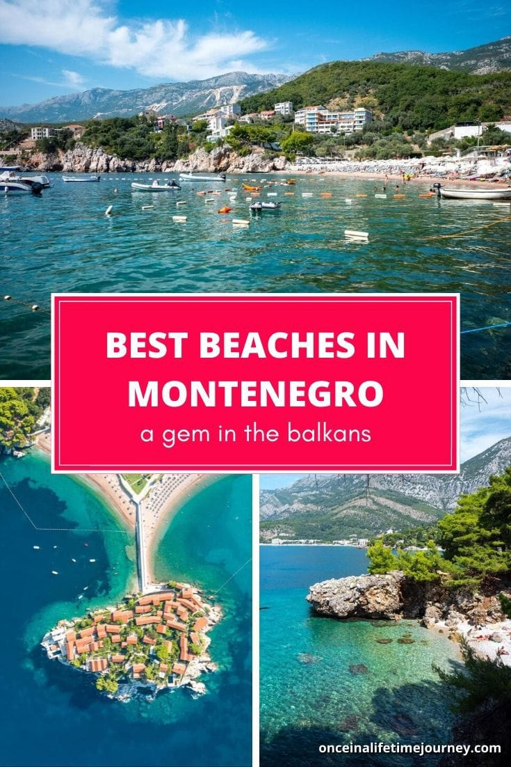 The Best beaches in Montenegro