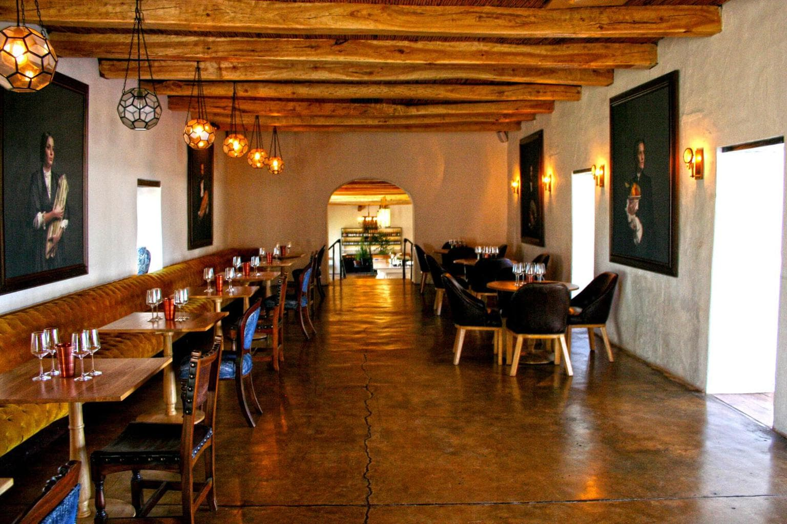 The Werf restaurant at Boschendal