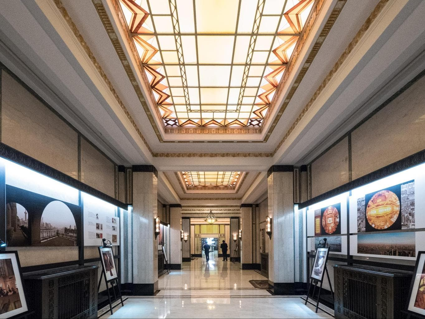 The gallery at The Fairmont Peace Hotel