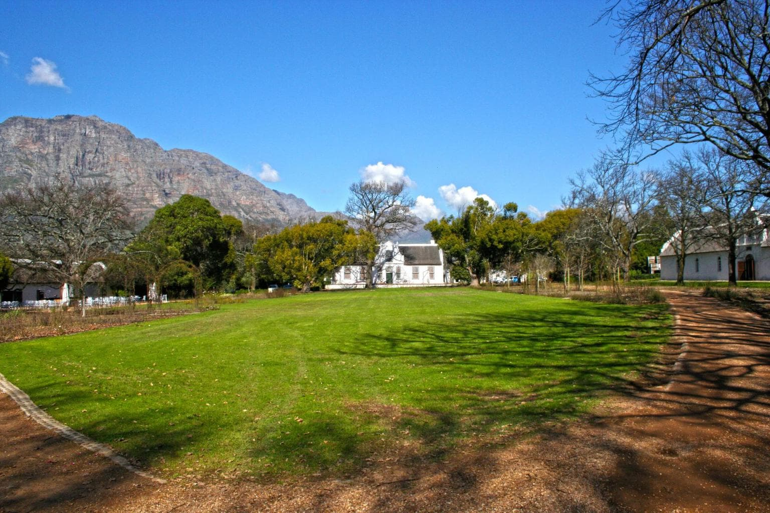 The old grounds at Boschendal