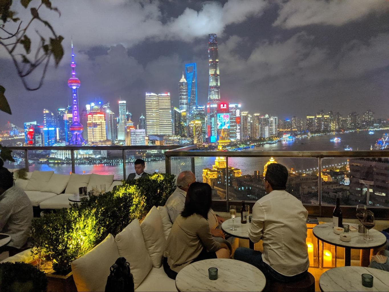 The views from The Shanghai Edition