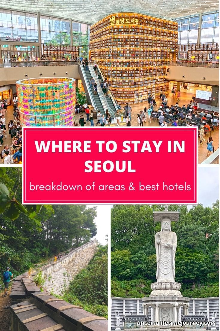 A list of Where to stay in Seoul