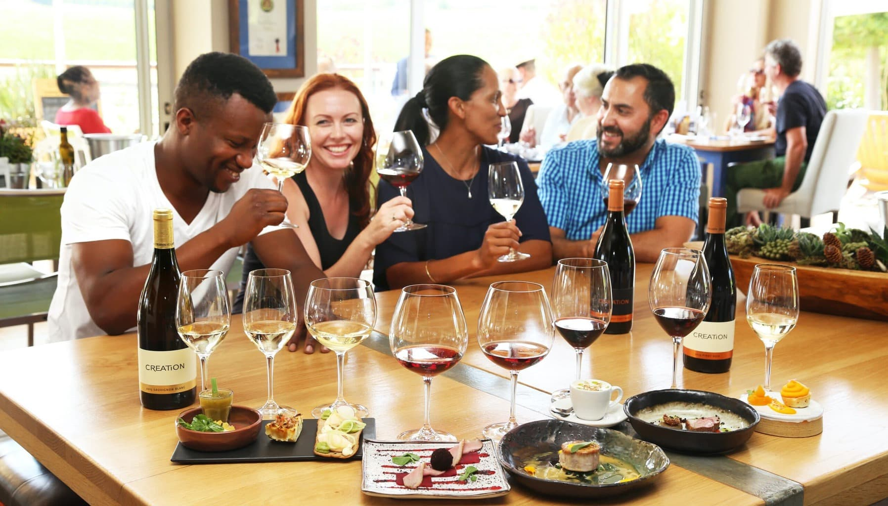 Wine and Food pairing at Creation