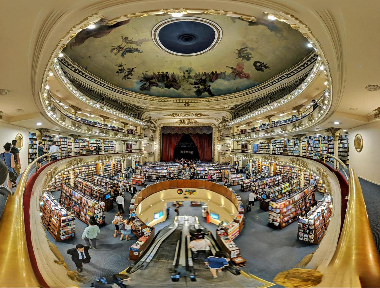 Ateneo Grand Splendid Bookstore in Buenos Aires
