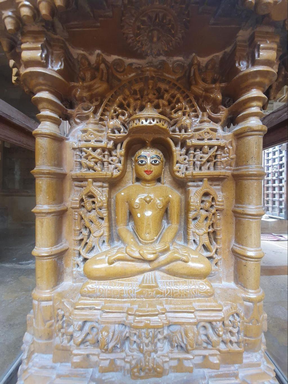 Beautiful carvings in Jaisalmer's Jain Temples