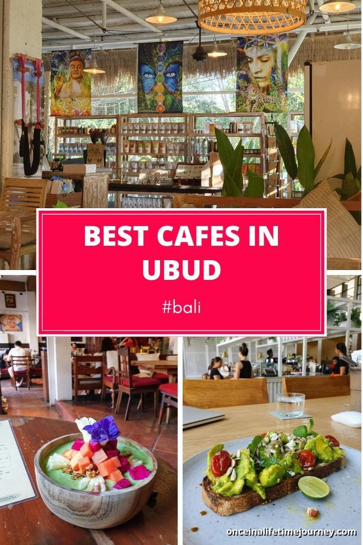 Best Cafes in Ubud Bali
